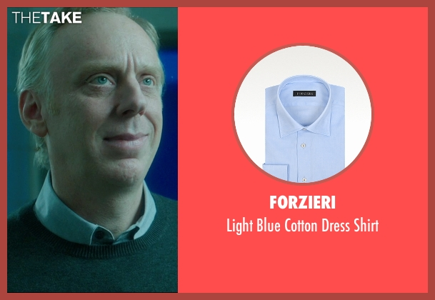 Forzieri blue shirt from The D Train seen with Mike White (Jerry)