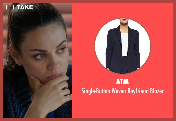 ATM  blue blazer from Bad Moms seen with Mila Kunis (Amy Mitchell)