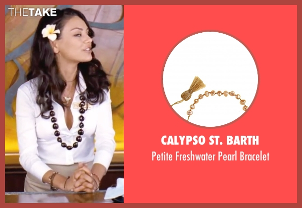 Calypso St. Barth brown bracelet from Forgetting Sarah Marshall seen with Mila Kunis (Rachel Jansen)
