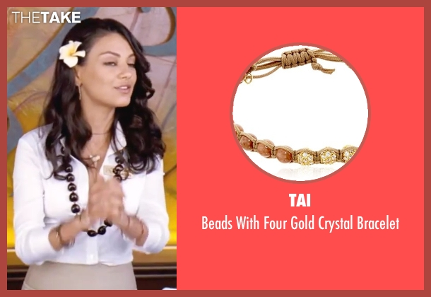 Tai  brown bracelet from Forgetting Sarah Marshall seen with Mila Kunis (Rachel Jansen)