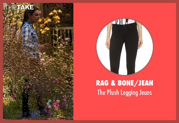 Rag & Bone/Jean black jeans from Jupiter Ascending seen with Mila Kunis (Jupiter Jones)
