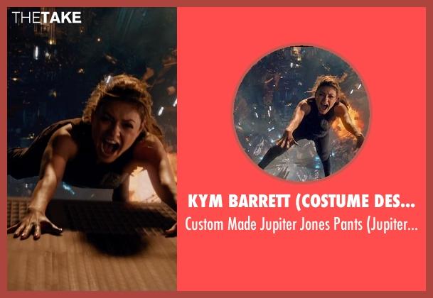 Kym Barrett (Costume Designer) pants from Jupiter Ascending seen with Mila Kunis (Jupiter Jones)