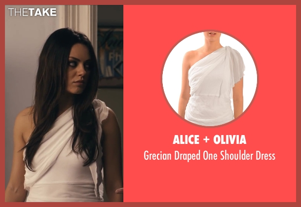 Alice + Olivia white dress from Ted seen with Mila Kunis (Lori Collins)