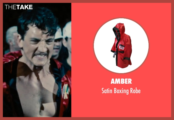 Amber robe from Bleed for This seen with Miles Teller (Vinny Pazienza)