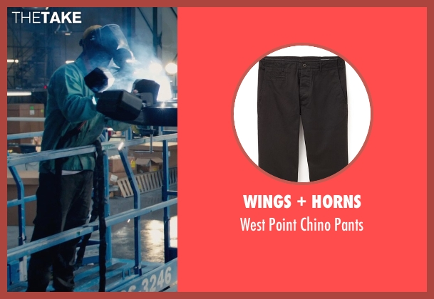 Wings + Horns black pants from Fantastic Four seen with Miles Teller (Reed Richards / Mr. Fantastic)