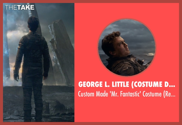 George L. Little (Costume Designer) costume from Fantastic Four seen with Miles Teller (Reed Richards / Mr. Fantastic)