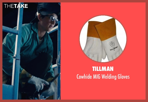 Tillman gloves from Fantastic Four seen with Miles Teller (Reed Richards / Mr. Fantastic)