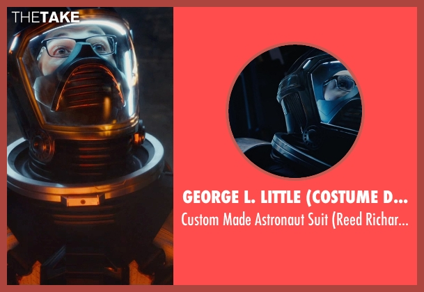George L. Little (Costume Designer) suit from Fantastic Four seen with Miles Teller (Reed Richards / Mr. Fantastic)