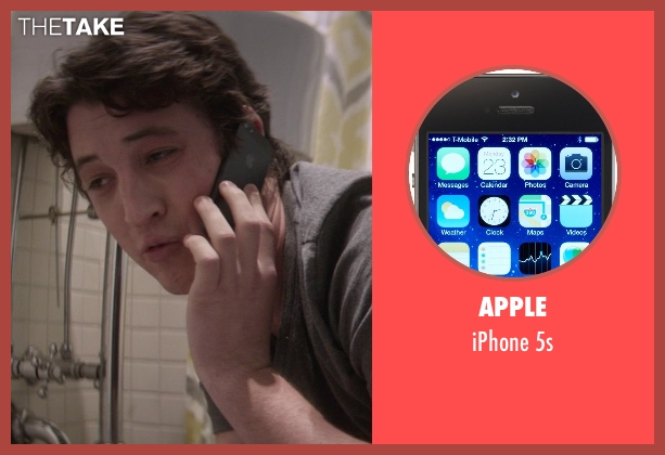 Apple 5s from That Awkward Moment seen with Miles Teller (Daniel)