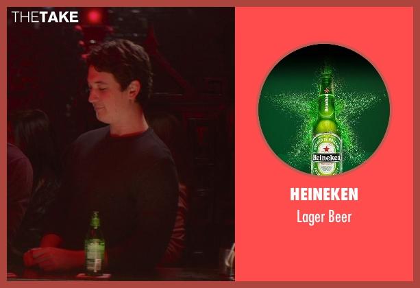 Heineken beer from That Awkward Moment seen with Miles Teller (Daniel)