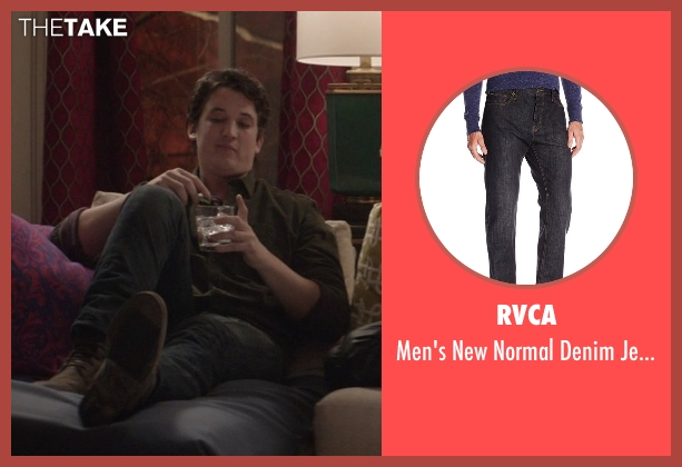 RVCA black black from That Awkward Moment seen with Miles Teller (Daniel)
