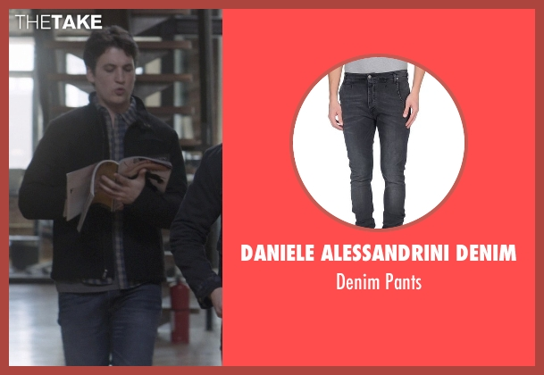 Daniele Alessandrini Denim black pants from That Awkward Moment seen with Miles Teller (Daniel)