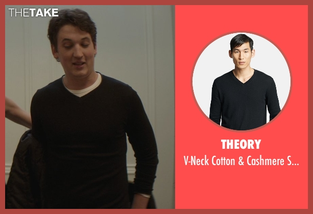 Theory black sweater from That Awkward Moment seen with Miles Teller (Daniel)