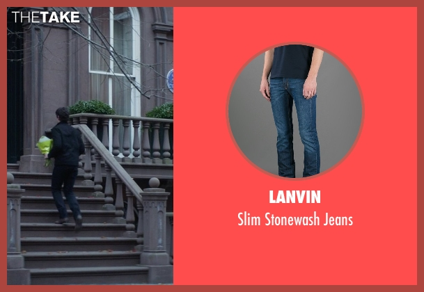 Lanvin blue jeans from That Awkward Moment seen with Miles Teller (Daniel)