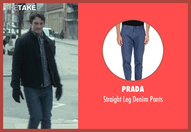 Prada blue pants from That Awkward Moment seen with Miles Teller (Daniel)