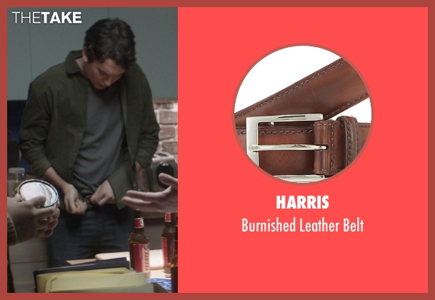 Harris brown belt from That Awkward Moment seen with Miles Teller (Daniel)