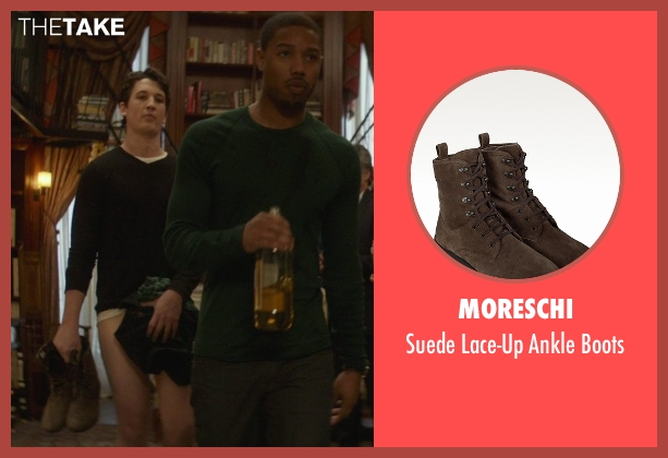 Moreschi brown boots from That Awkward Moment seen with Miles Teller (Daniel)