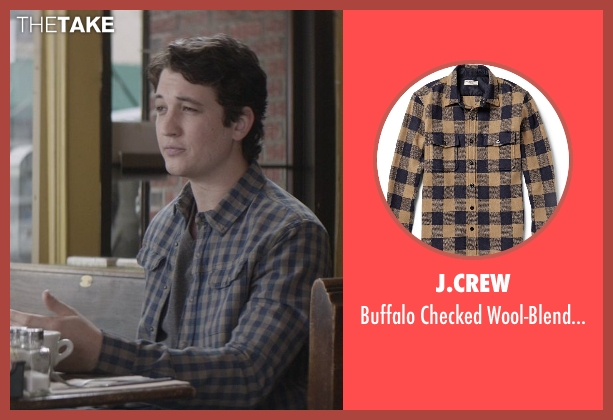 J.Crew brown overshirt from That Awkward Moment seen with Miles Teller (Daniel)