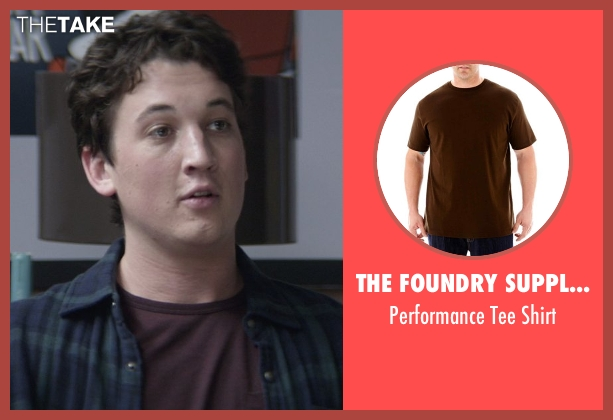 The Foundry Supply Co. brown shirt from That Awkward Moment seen with Miles Teller (Daniel)