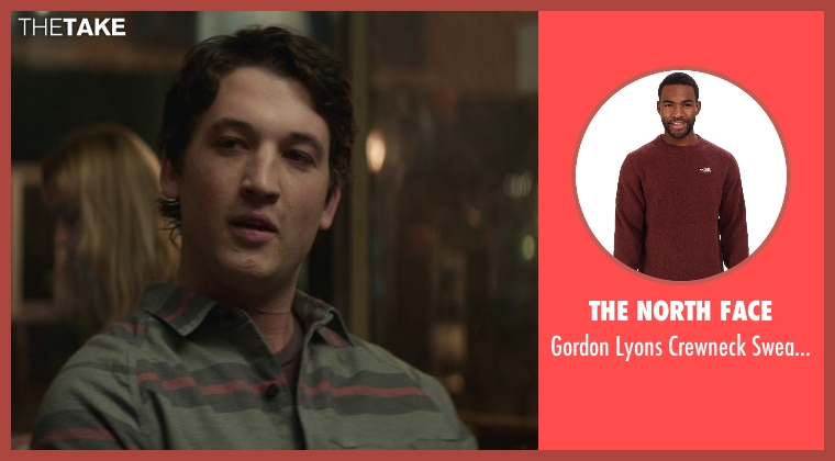 The North Face brown sweater from That Awkward Moment seen with Miles Teller (Daniel)