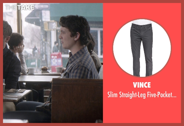 Vince gray jeans from That Awkward Moment seen with Miles Teller (Daniel)