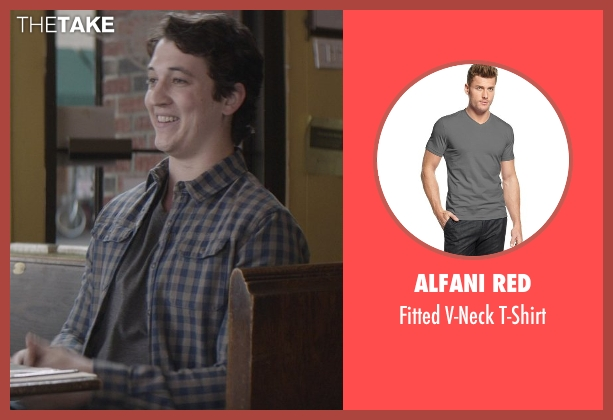 Alfani Red gray t-shirt from That Awkward Moment seen with Miles Teller (Daniel)