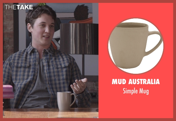 Mud Australia mug from That Awkward Moment seen with Miles Teller (Daniel)