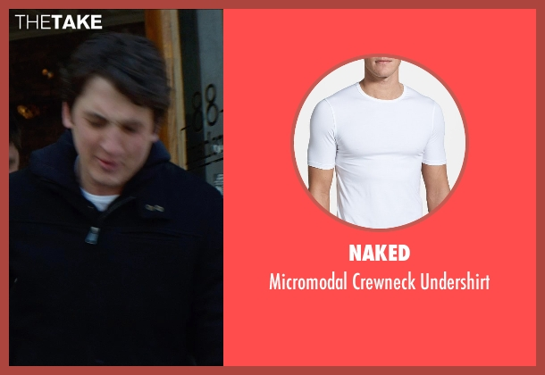 Naked white undershirt from That Awkward Moment seen with Miles Teller (Daniel)