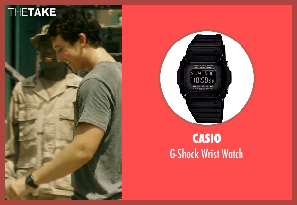 Casio black watch from War Dogs seen with Miles Teller (David Packouz)
