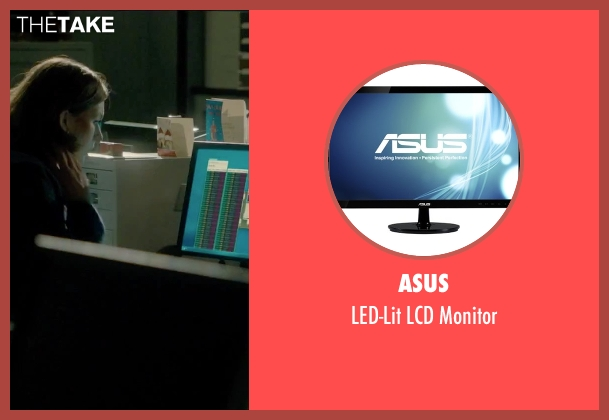 Asus monitor from Survivor seen with Milla Jovovich (Kate Abbott)
