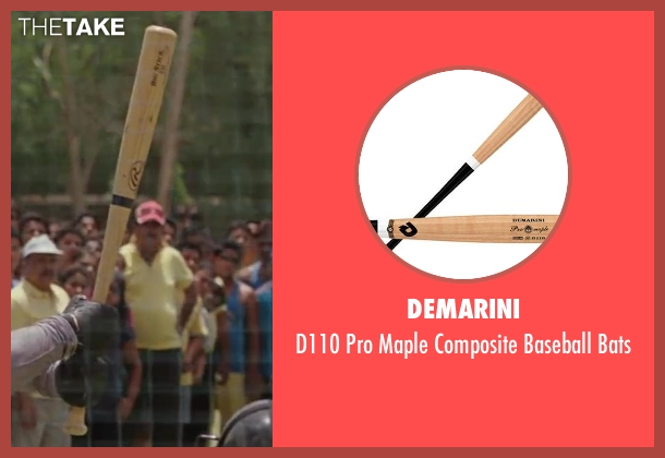 DeMarini bats from Million Dollar Arm