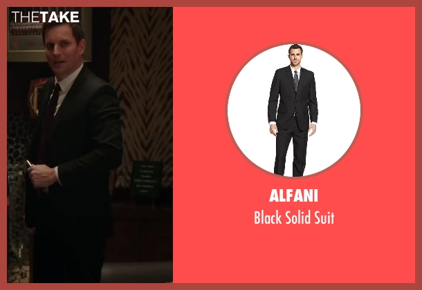 Alfani black suit from Million Dollar Arm