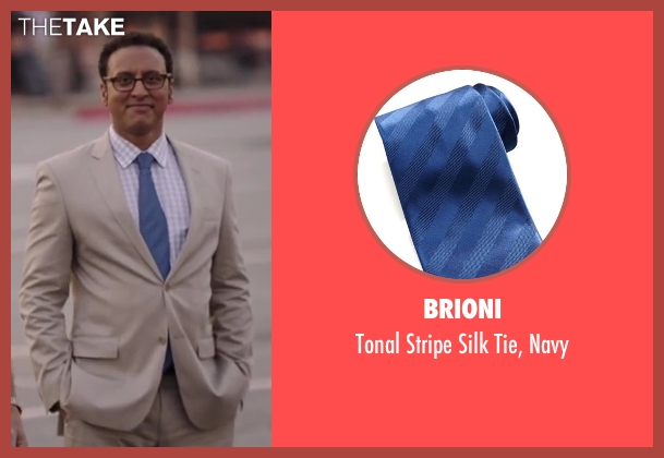Brioni blue navy from Million Dollar Arm