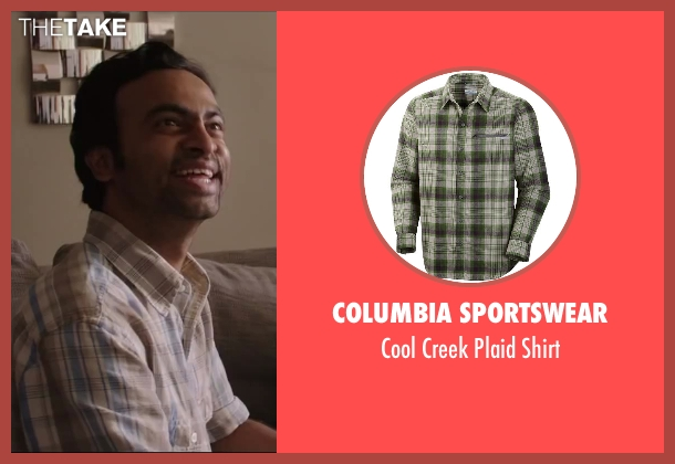Columbia Sportswear green shirt from Million Dollar Arm