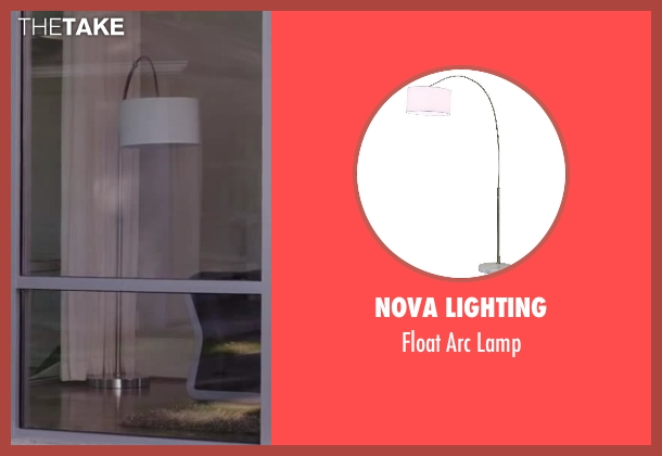 Nova Lighting lamp from Million Dollar Arm