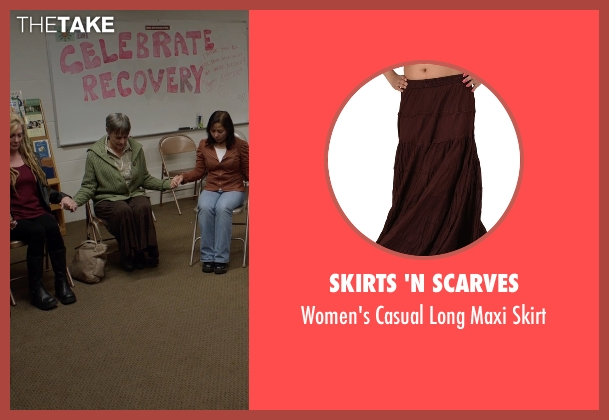 Skirts 'N Scarves brown skirt from Captive seen with Mimi Rogers (Kim Rogers)