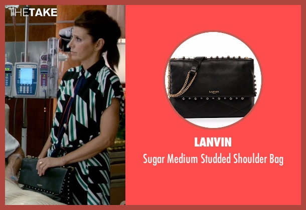 Lanvin black bag from Empire seen with Mimi Whiteman (Marisa Tomei)