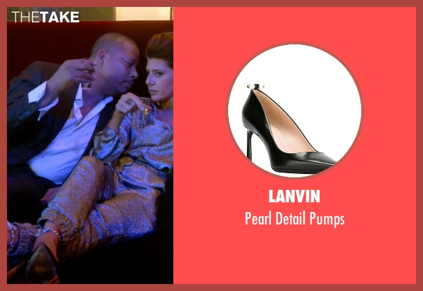 Lanvin black pumps from Empire seen with Mimi Whiteman (Marisa Tomei)