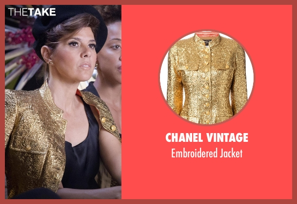 Chanel Vintage gold jacket from Empire seen with Mimi Whiteman (Marisa Tomei)