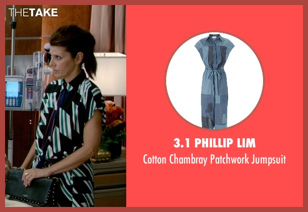 3.1 Phillip Lim jumpsuit from Empire seen with Mimi Whiteman (Marisa Tomei)