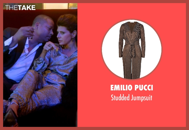 Emilio Pucci silver jumpsuit from Empire seen with Mimi Whiteman (Marisa Tomei)