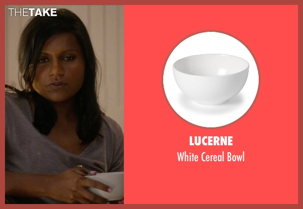 Lucerne bowl from No Strings Attached seen with Mindy Kaling (Shira)