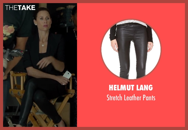 Helmut Lang black pants from Beyond the Lights seen with Minnie Driver (Macy Jean)