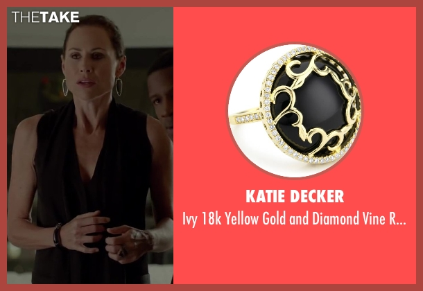 Katie Decker black ring from Beyond the Lights seen with Minnie Driver (Macy Jean)