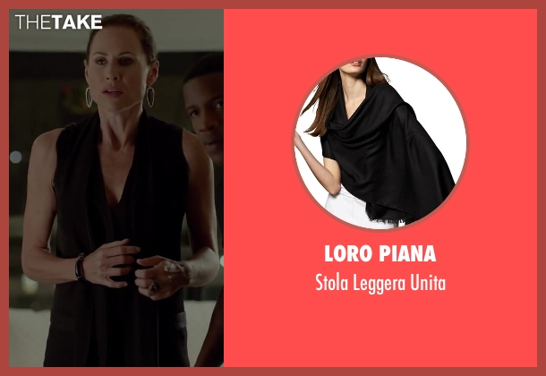 Loro Piana black unita from Beyond the Lights seen with Minnie Driver (Macy Jean)