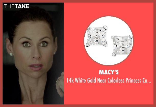 Macy's studs from Beyond the Lights seen with Minnie Driver (Macy Jean)