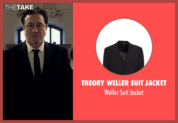 Theory Weller Suit Jacket black jacket from Lucy seen with Min-Sik Choi (Kang)