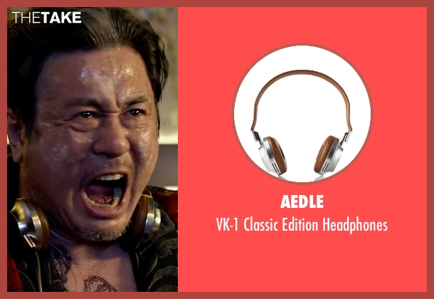 Aedle headphones from Lucy seen with Min-Sik Choi (Kang)