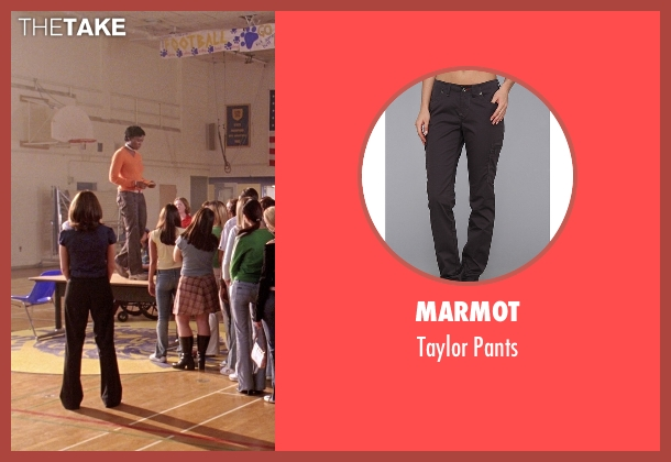 Marmot gray pants from Mean Girls seen with Miranda Edwards (Michigan Girl)