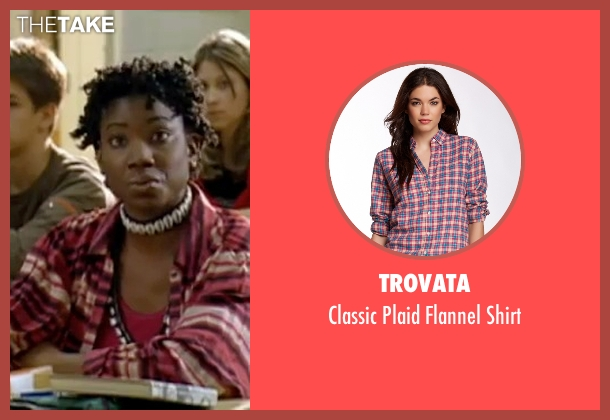 Trovata pink shirt from Mean Girls seen with Miranda Edwards (Michigan Girl)
